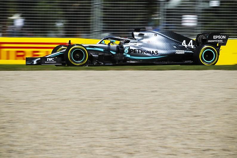 1a8fb6d535bca5 Australian Grand Prix practice  Lewis Hamilton leads Ferraris - F1 -  Autosport