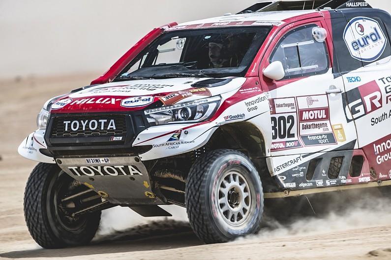 Al-Attiyah: 2019 Dakar Rally win should prompt more Toyota