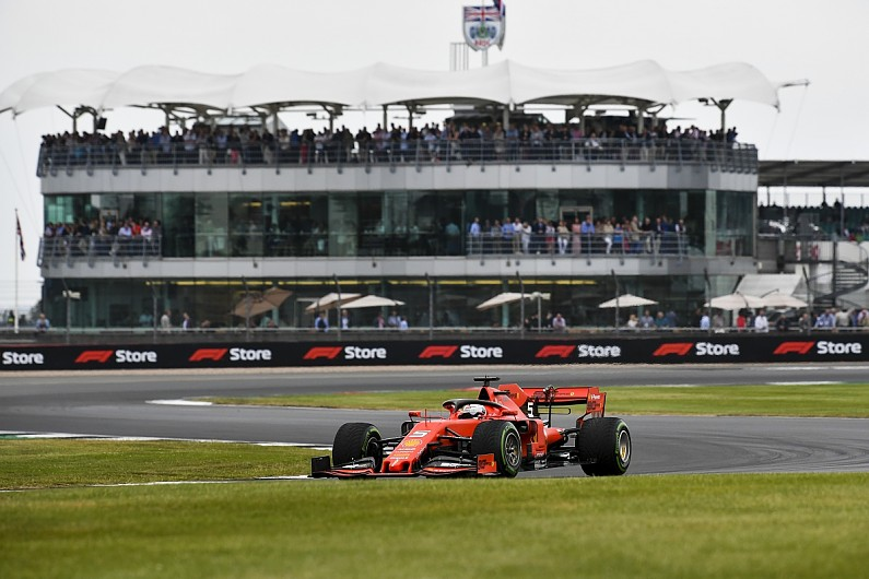 Formula 1 needs Silverstone over 'fancy' London race - Vettel