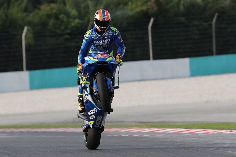 Suzuki Motogp Bike Showing Incredible Pace On Old Tyres Rins Motogp Autosport
