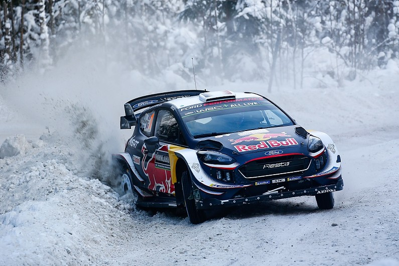 Rally Sweden: Ogier controvers...