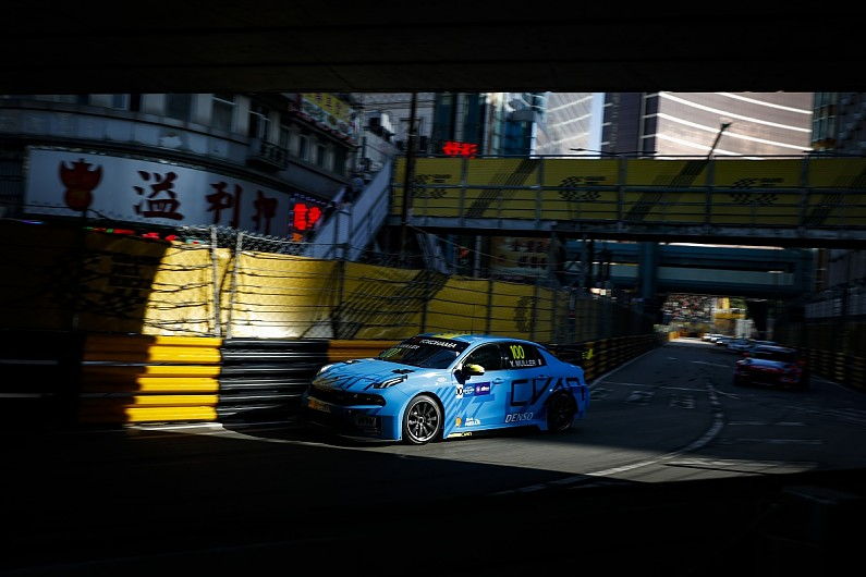 Yvan Muller seals Macau WTCR win double from fifth in race two