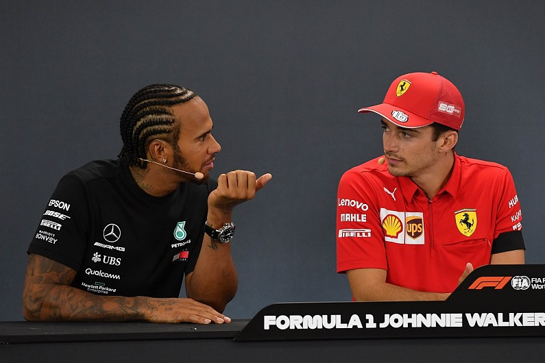Hamilton praises Leclerc for 'continuously' outdoing Vettel in F1