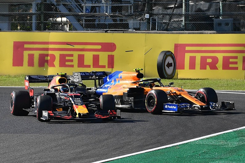 'Forced off' Norris pleased Albon wasn't penalised for Suzuka clash