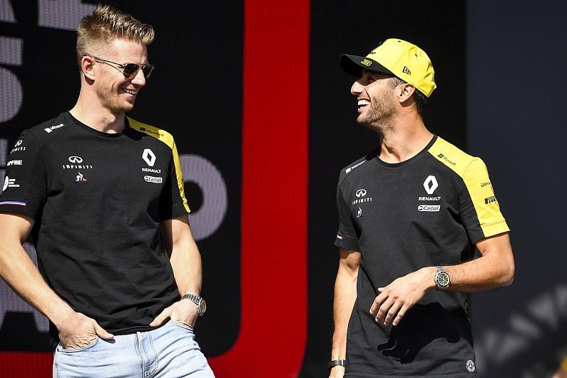 "Ricciardo hopes ""easy"" Hulkenberg gets F1 seat after Renault exit"