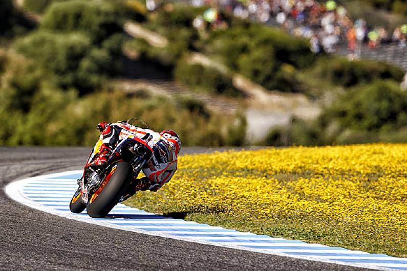 Rear grip is Honda's 2015 MotoGP weakness, says Marc Marquez
