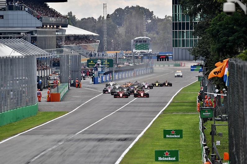 Italian Grand Prix Finally Secures F1 Future With New Monza Deal F1 Autosport