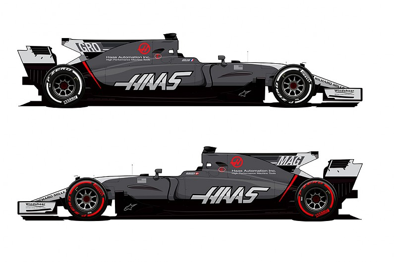 Haas Team Changes Livery For Rest Of 2017 Formula 1 Season F1 Autosport
