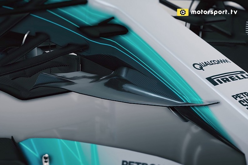F1 tech video: Has Mercedes built F1's most complicated car ever?