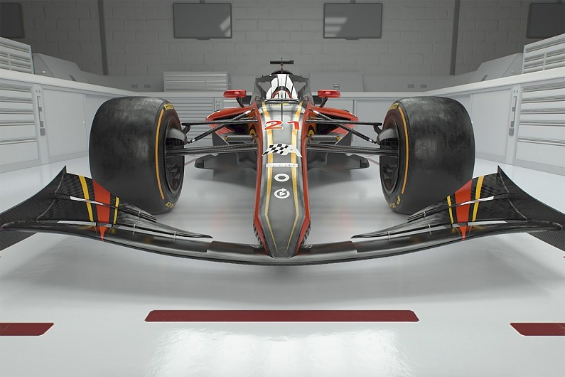 Video: Our vision for how a 2021 Formula 1 rules car should look