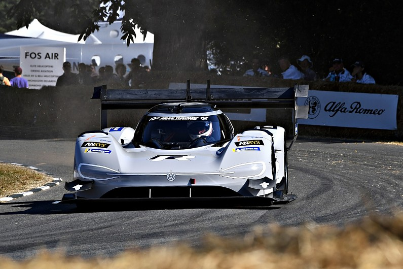 Pikes Peak-winning VW I.D. R smashes Goodwood electric car record