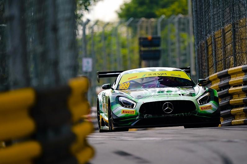 Macau: Marciello puts Mercedes on pole