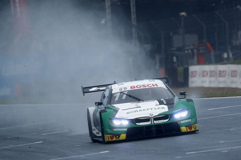 Wittmann steals DTM pole as Fittipaldi crashes at Brands Hatch - DTM