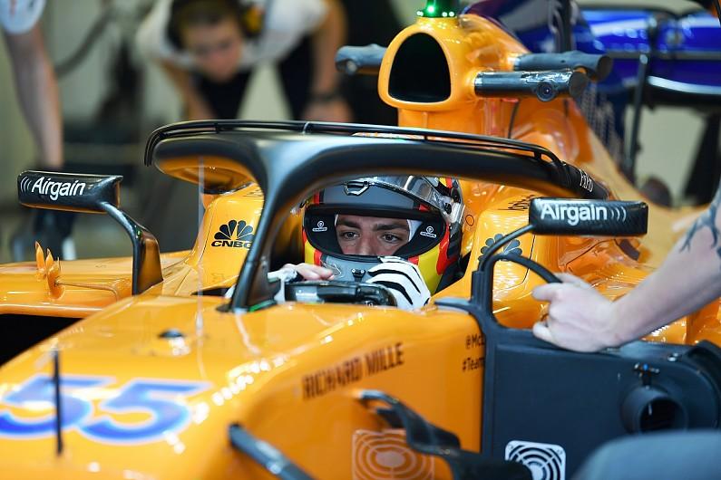 Resultado de imagen de Test McLaren Carlos Sainz