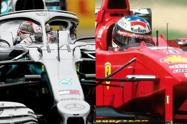 Video: Hamilton and Schumacher's epic Hungary F1 charges compared
