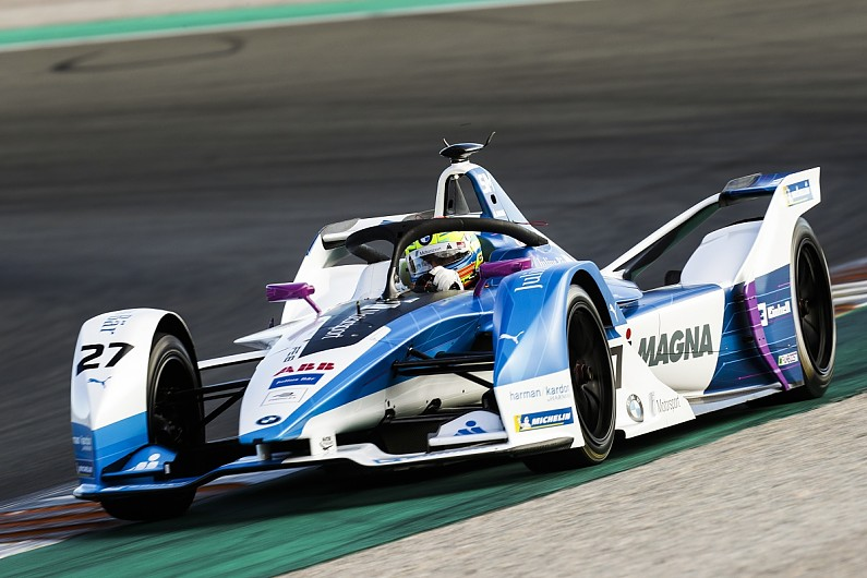 Formula E 2018/19: BMW's Sims leads Valencia Gen2 testing day one - Formula E - ...
