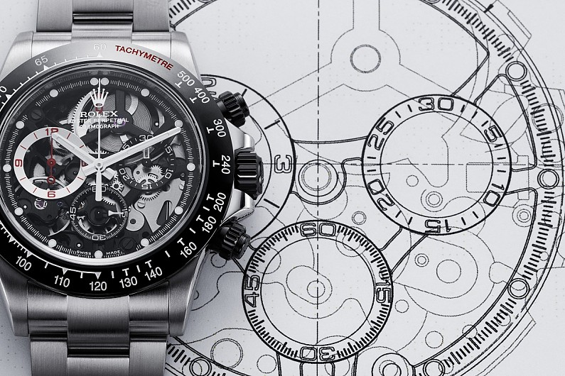 Promoted: Barrichello watch inspired by Rolex Daytona