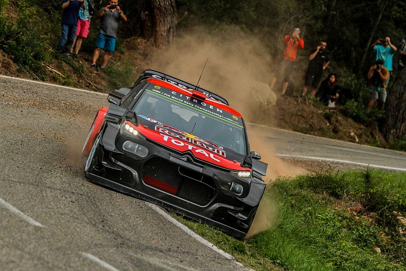 Citroen tests WRC's most radical aero yet ahead of Rally Spain