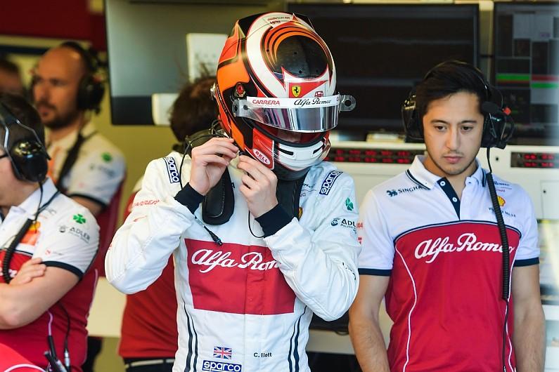 26c5d234b653 Alfa F1 test debutant Callum Ilott caught off guard in