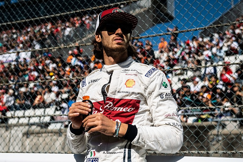 Formula 1 rookie Antonio Giovinazzi's battle for 2020 seat