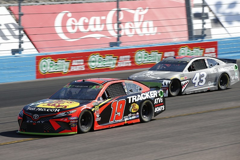 Why Truex Jr raced at Phoenix with 'half a team' and an 'old car'
