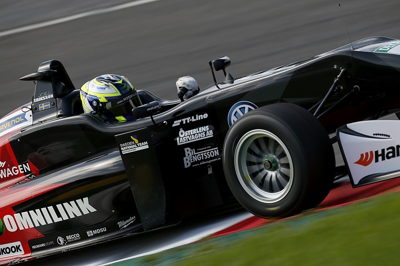 Red Bull Ring European F3 Eriksson Wins Tense Race Two
