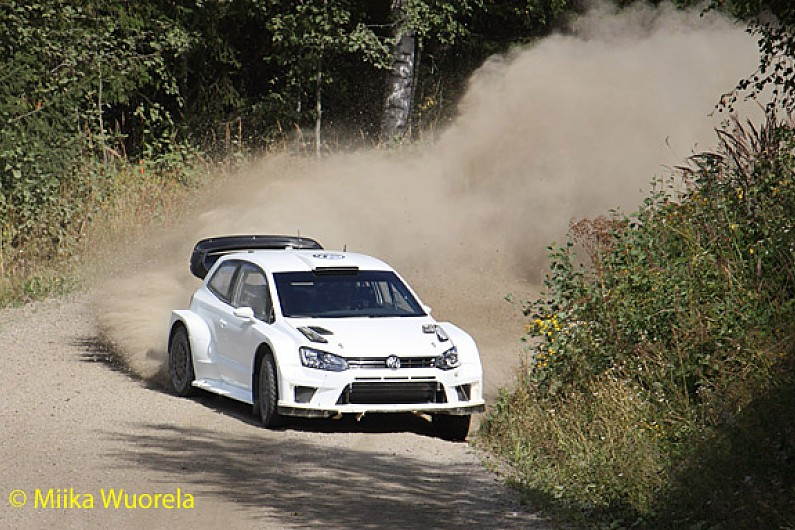 marcus gronholm tests early version of 2017 vw polo wrc wrc autosport. Black Bedroom Furniture Sets. Home Design Ideas