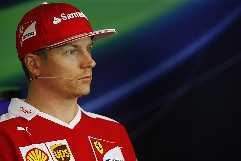 ferrari re signs kimi raikkonen for 2017 f1 season f1 autosport. Black Bedroom Furniture Sets. Home Design Ideas
