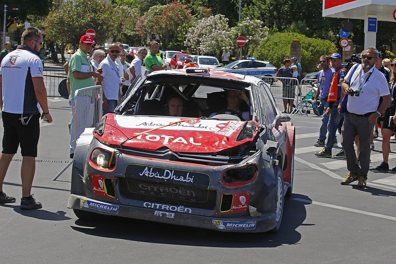 Nine Time Wrc Champion Loeb To Test Citroen S 2017 C3 Rally Car