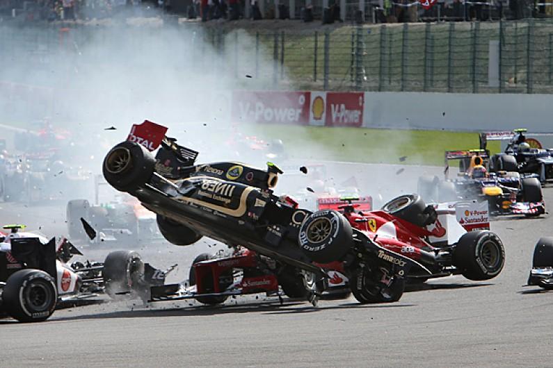 Lotus F1 driver Romain Grosjean 'needed help' after 2012 crashes - F1 - Autosport