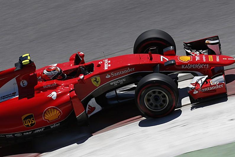 ferrari re signs kimi raikkonen for 2016 formula 1 season f1 autosport. Black Bedroom Furniture Sets. Home Design Ideas