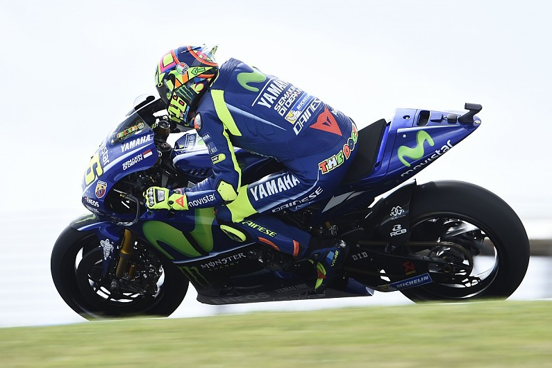 Rossi Unsure If Yamaha Will Have 2018 Motogp Bike For Valencia