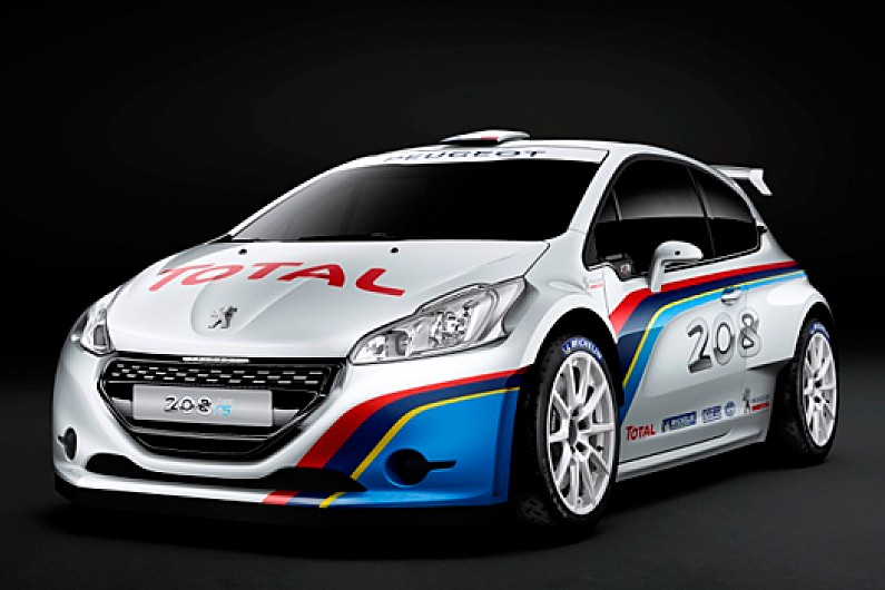 peugeot uncovers new 208 r5-spec rally car - wrc - autosport