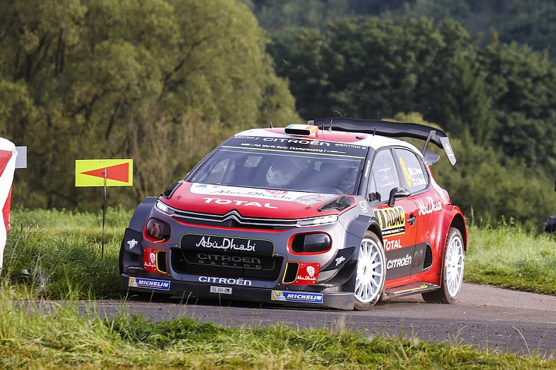 Breen Citroen S C3 Wrc Car Becoming More Compliant Ahead Of