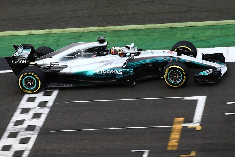 2017 mercedes formula 1 car breaks cover at silverstone f1 autosport