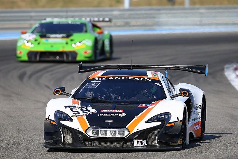 Garage 59 mclaren team returns to blancpain gt for 2018 for Garage auto b2