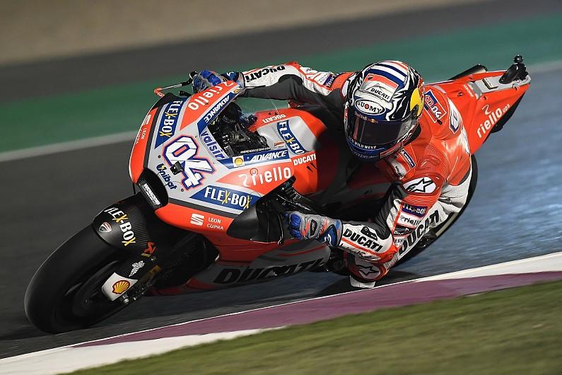 MotoGP Qatar: Ducati's Dovizioso doubles up with fastest FP2 time - MotoGP - Autosport