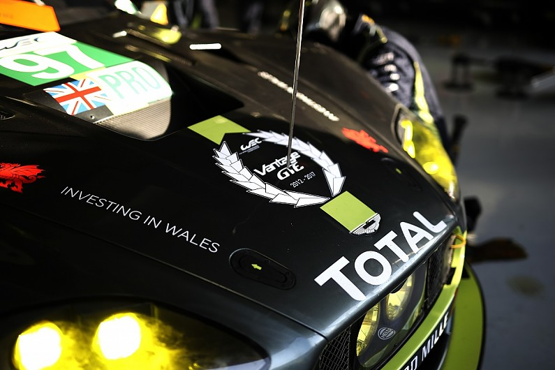 new aston martin vantage gte has completed two 30-hour tests - wec