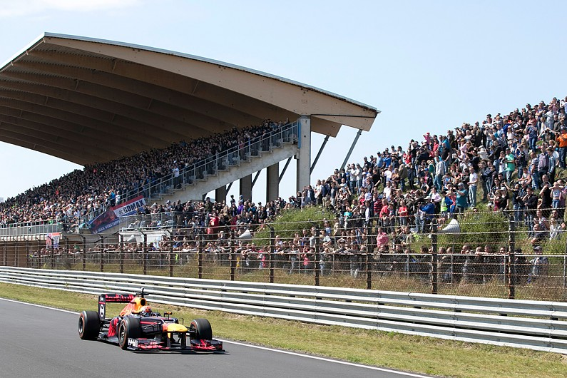 Max Verstappen breaks Zandvoort lap record in Red Bull F1 ...