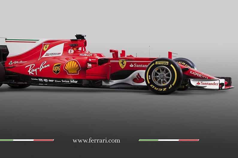 ferrari unveils its sf70h 2017 formula 1 car - f1 - autosport
