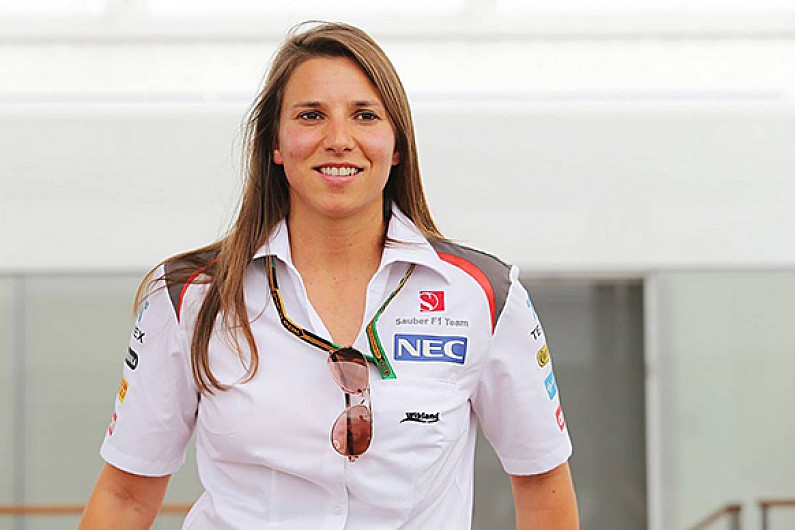 Sauber F1 Team Says It Had No Choice On Simona De