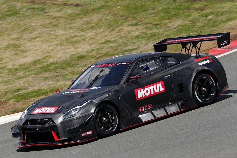 Nissan Begins Testing New Car For Gt Autosport