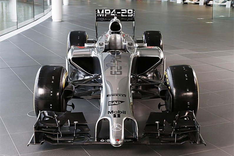 Mclaren F1 2014