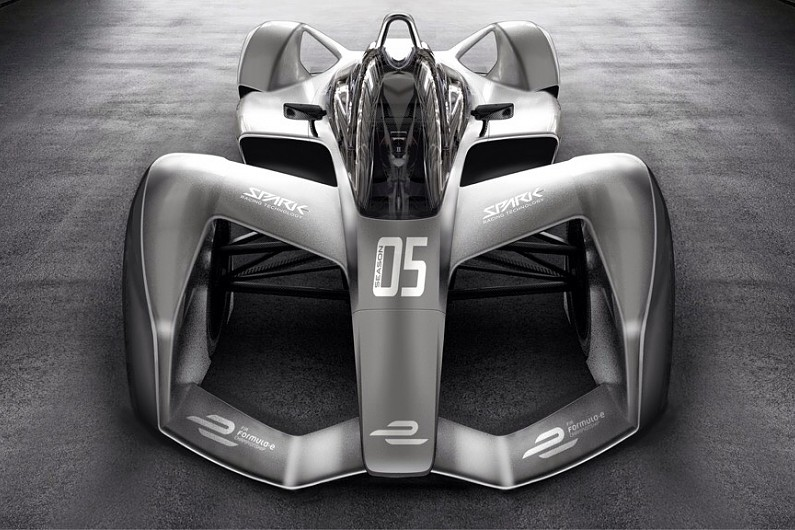 Formula E's new all-electric racecars look like they flew
