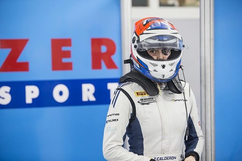 When will Tatiana Calderon start a F1 race?