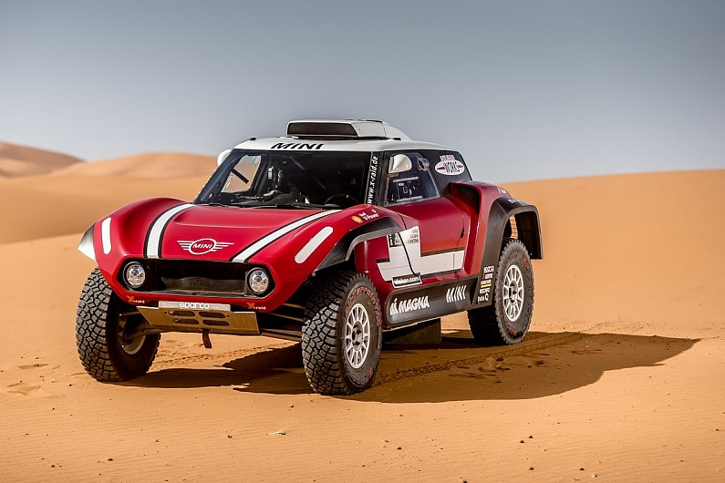x raid reveals new buggy mini for 2018 dakar rally dakar autosport. Black Bedroom Furniture Sets. Home Design Ideas